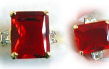 bague hollywood collection rubis