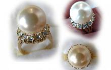 hollywood collection perle et zircon