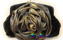sac du soir marron